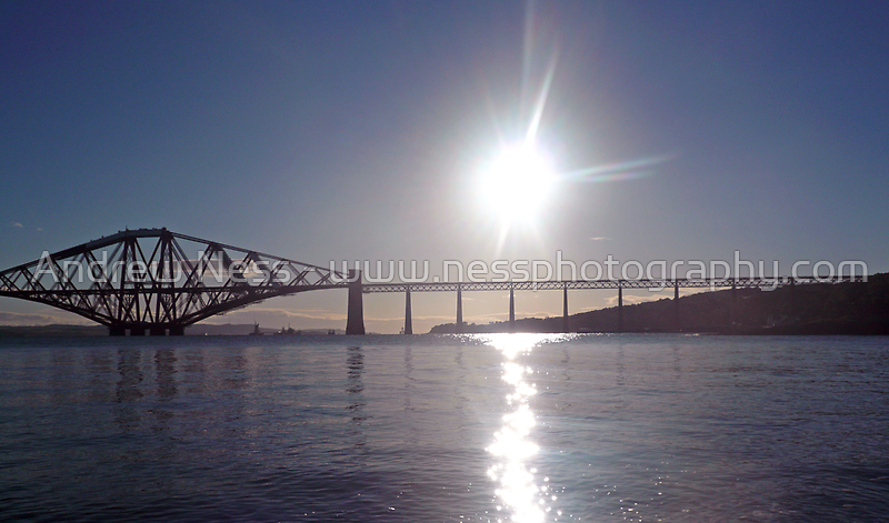 Sunrise Over The Firth Of Forth by Andrew Ness - www.nessphotography.com