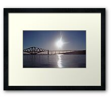 Sunrise Over The Firth Of Forth Framed Print