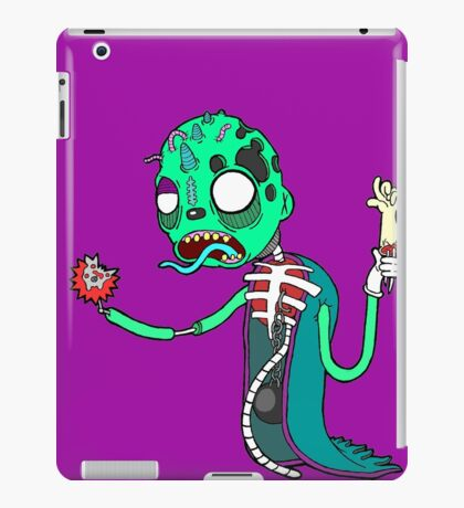 Carnihell #6 green saw man iPad Case/Skin