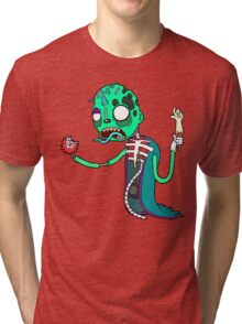 Carnihell #6 green saw man Tri-blend T-Shirt