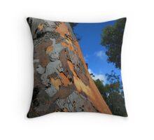 Tree Skin Throw Pillow