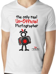 Red - The New Guy - The only real Un-Official Photographer Mens V-Neck T-Shirt