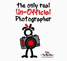 Red - The New Guy - The only real Un-Official Photographer Unisex T-Shirt