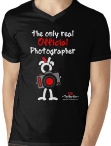 Red - The New Guy - The only real Official Photographer Mens V-Neck T-Shirt