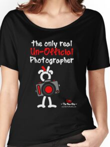 Red - The New Guy - The only real Un-Official Photographer Women's Relaxed Fit T-Shirt