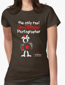 Red - The New Guy - The only real Un-Official Photographer Womens Fitted T-Shirt