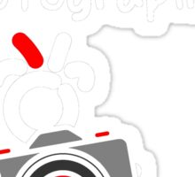 Red - The New Guy - The only real Un-Official Photographer Sticker
