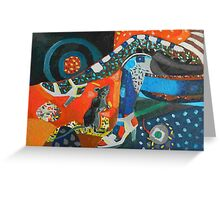 Jazz bar Greeting Card