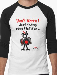 Red - The New Guy - Don't Worry ! Just taking some pictures .. Men's Baseball ¾ T-Shirt