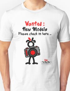 Red - The New Guy - Wanted : New Models .. Unisex T-Shirt
