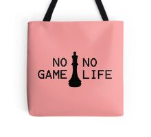 No Game; No Life Tote Bag