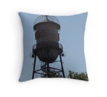 Trolley Square Watertower Throw Pillow