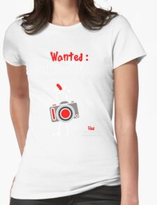 Red - The New Guy - Wanted : New Models .. Womens Fitted T-Shirt