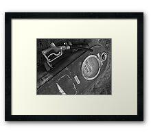 The Bowser Framed Print
