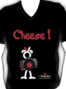 Red - The New Guy - Cheese ! T-Shirt