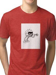 Space Man Spiff Tri-blend T-Shirt