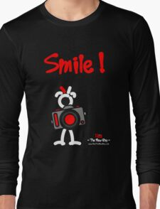 Red - The New Guy - Smile ! Long Sleeve T-Shirt