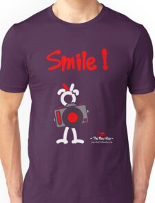Red - The New Guy - Smile ! Unisex T-Shirt