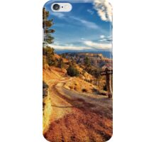 Horse Trail in Bryce Canyon iPhone Case/Skin