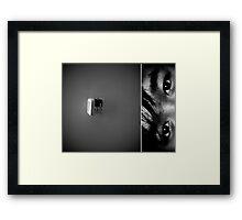 Sometimes... Framed Print