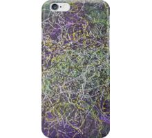 """Entanglement"" original abstract artwork by Laura Tozer iPhone Case/Skin"