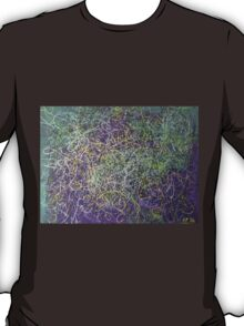 """Entanglement"" original abstract artwork by Laura Tozer T-Shirt"