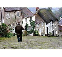 Gold Hill, Shaftesbury Photographic Print