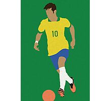 Neymar Jr. Photographic Print