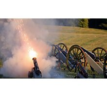 Cannon Fire Photographic Print