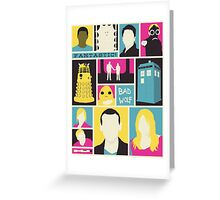 Doctor Who - The Ninth Doctor Greeting Card