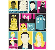 Doctor Who - The Ninth Doctor Photographic Print