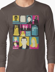 Doctor Who - The Ninth Doctor Long Sleeve T-Shirt