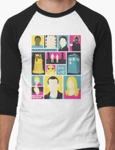 Doctor Who - The Ninth Doctor Men's Baseball ¾ T-Shirt