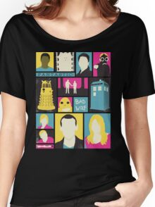 Doctor Who - The Ninth Doctor Women's Relaxed Fit T-Shirt