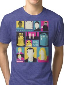 Doctor Who - The Ninth Doctor Tri-blend T-Shirt