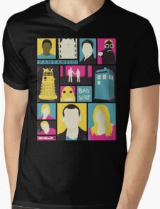 Doctor Who - The Ninth Doctor Mens V-Neck T-Shirt