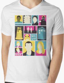Doctor Who - The Ninth Doctor Mens V-Neck T-Shirt