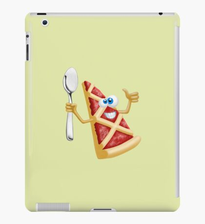 Funny pizza! iPad Case/Skin