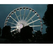 Greenwich Wheel Photographic Print