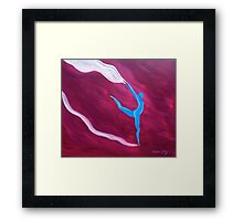 The Wind Framed Print