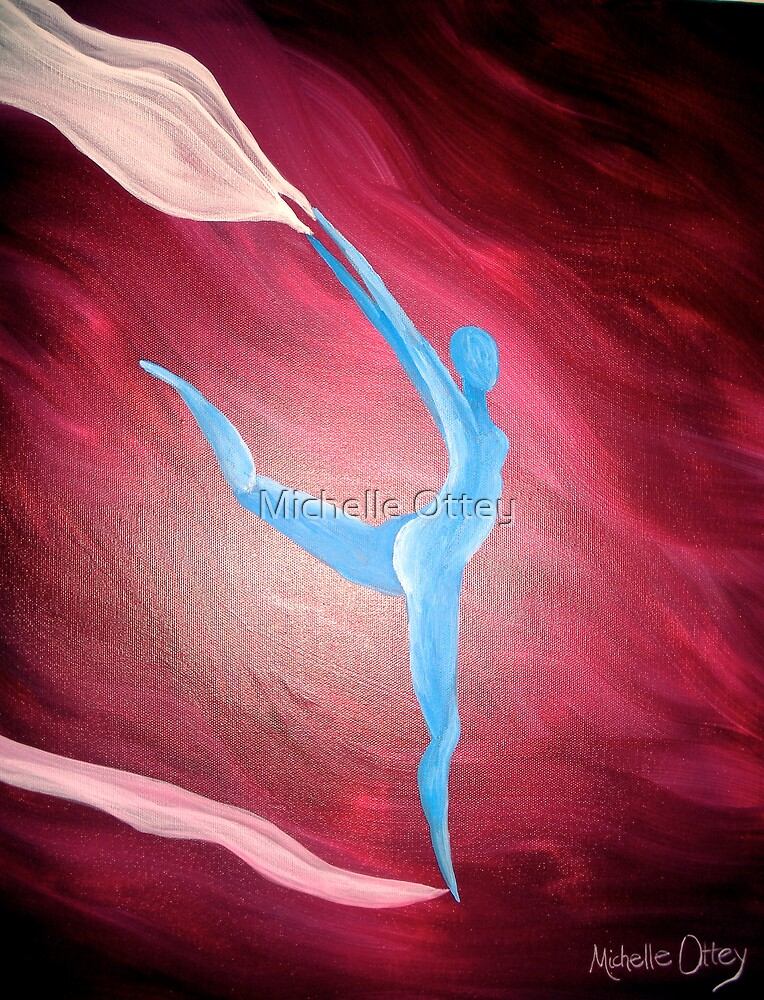 The Wind (close up) by Michelle Ottey