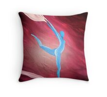 The Wind (close up) Throw Pillow