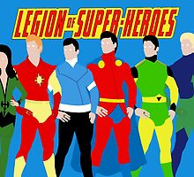 Legion of Super-Heroes Minimal 3 by TheWrightMan