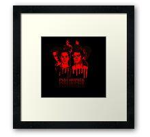 Kai Parker And Stiles Stilinksi - Teen Wolf And The Vampire Diaries Framed Print