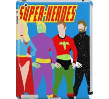 Legion of Super-Heroes Minimal 2 iPad Case/Skin