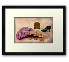 Purse Full Of Money And Lots Of Time  Framed Print