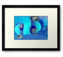 REMOTE PLANET Framed Print