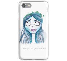 Corpse bride iPhone Case/Skin