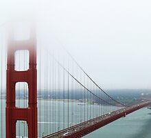 The Golden Gate Bridge by Debra  Lungren