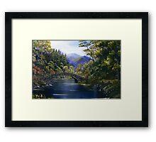 """Stone Bridge"" - somewhere in Ireland Framed Print"